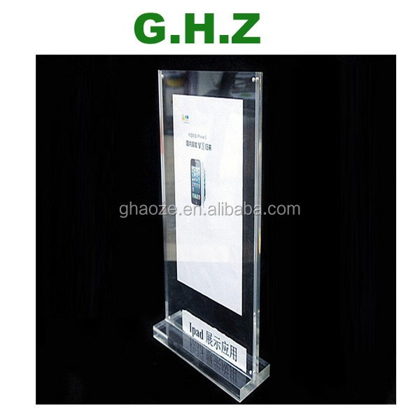 Custom Acrylic Sign Holder Led Factory