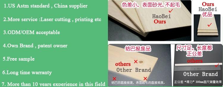 China Supplier New Design Laser Cut Balsa Wood Gliders