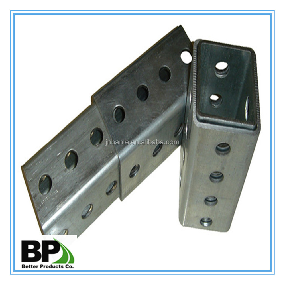 Perforated Square Steel Tube Anchors Buy Perforated