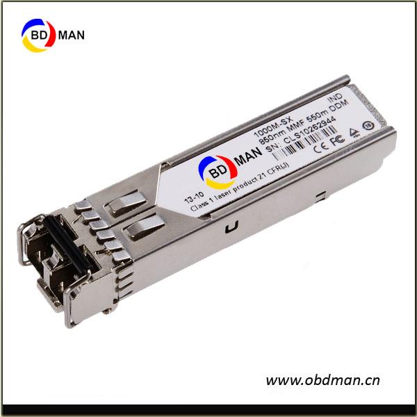 HPE 1G SFP LC SX 500m OM2 MMF Transceiver