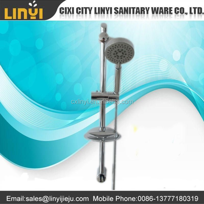 chinese sanitary ware factory directly supply full chrome plating colone de ducha griferia shower set