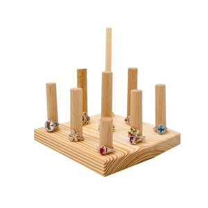 Best selling jewelry display wooden rack stand with good quality