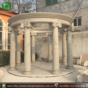Cheap Used Garden Pavilion Marble Gazebo For Sale