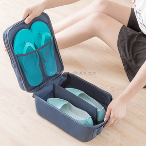 Shoe storage bag waterproof toiletries organizer bag
