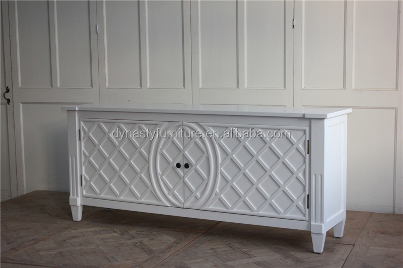 antique french furniture white wooden sideboard