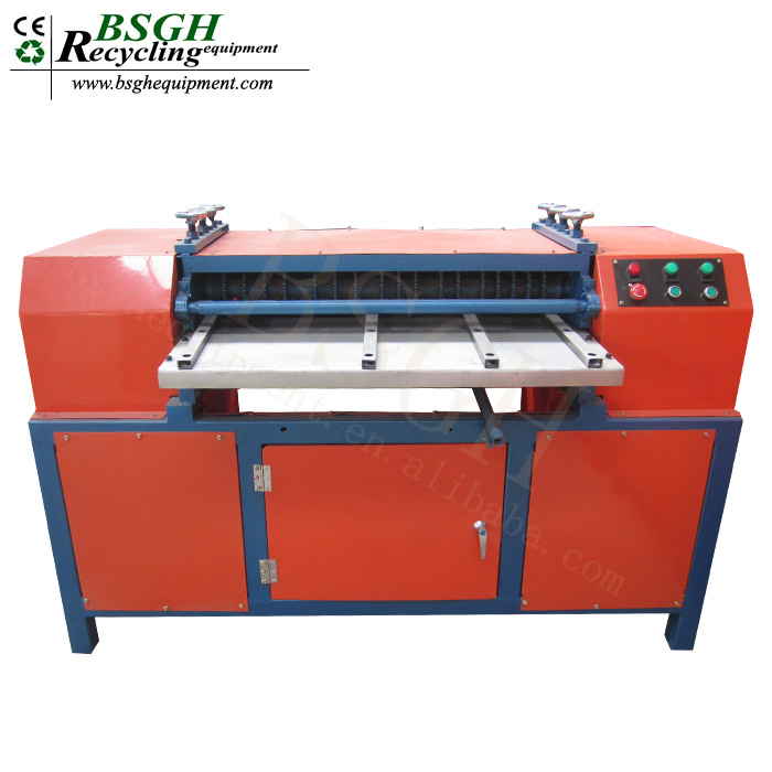 BS-1200P Waste Copper Aluminum Recycling Machine Radiator Panel Recycling Production Line