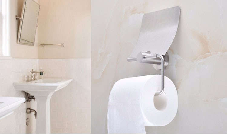 Bathroom Funny Toilet Paper Holder Type Decorative Paper
