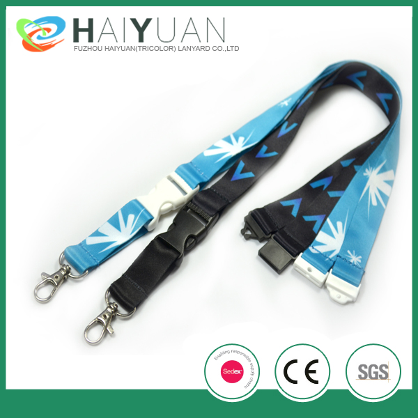Customized Lanyards with plastic ID holders
