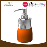 Wholesale orange and green lotion dispenser pump