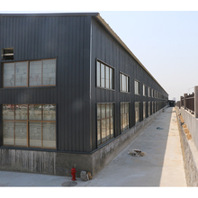 alibaba gold supplier overseas service prefabricated steel frame workshop