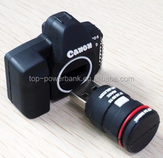 pvc usb flash drive, camera shaped pvc usb 8GB stick