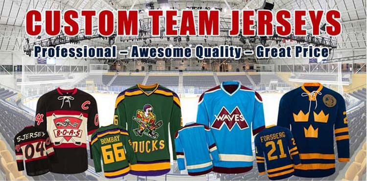 buy team hockey jerseys