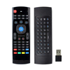 MX3 Custom Logo Battery 2xAAA 2.4G Wireless Keyboard Support 10 Meters Air Fly Mouse Remote Control For Smart TV
