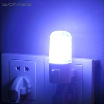 1e40e3a43a6bb Ordinaire Échantillon Petite Veilleuse Économiseuse D'énergie LED branchez  Lampe Lit-avec Interrupteur Prise