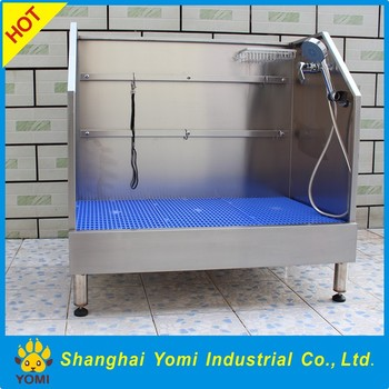 Beautiful Big Pet Bath Products Stainless Steel Dog Bath Tub On Sale Dogs Application  Bathtubs