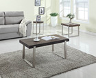 Canada Hot vente salon meubles Ash placage Table basse en bois