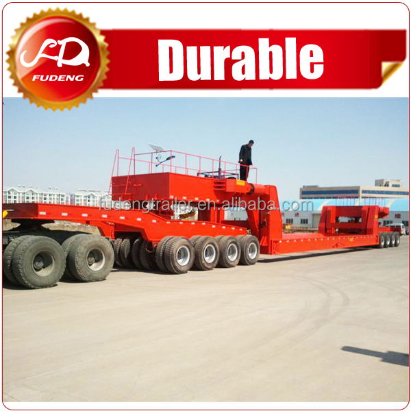 60-150T Hydraulic Lifting dolly Semi Trailer for Sale