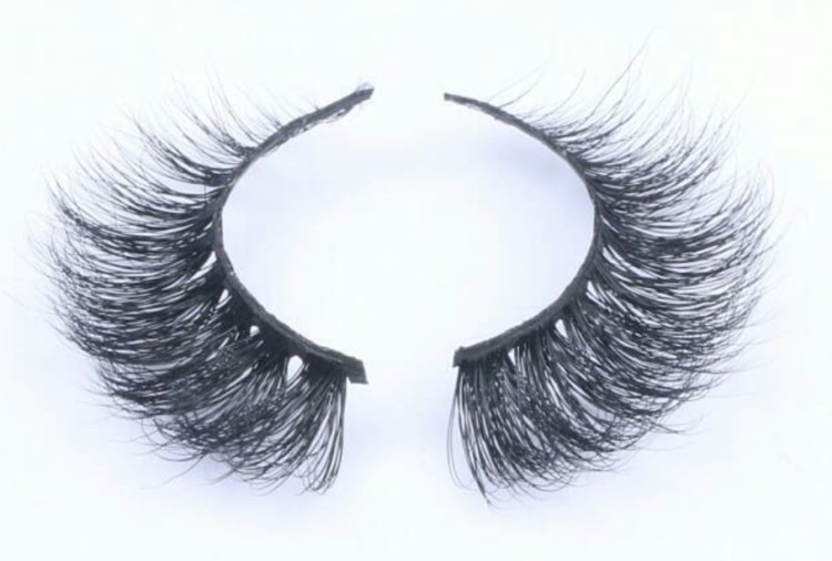 wholesale free sample private label real mink eyelashes