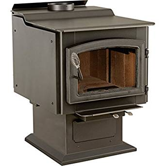 Heater / Stove Wood Burning - 152,000 Btu - 2,600 Sq Ft - Ul Listed - Epa Cert