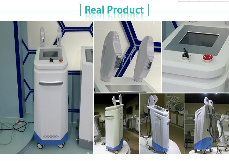 New products multifunctional beauty equipment cooling Elight+laser+RF+IPL SHR fast hair removal