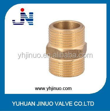 Brass niple coupling of hex nut