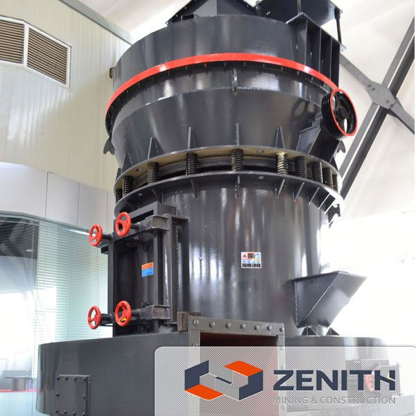 Zenith hot sale raymond mill exporter used in mining industry