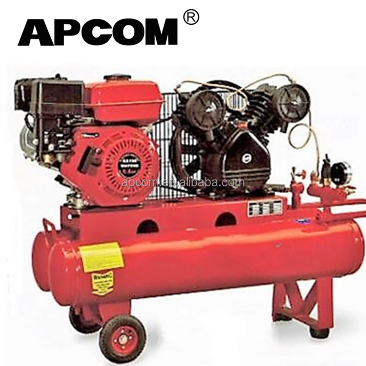 8 bar 12.5 bar 6-35 cfm piston petrol engine air compressor