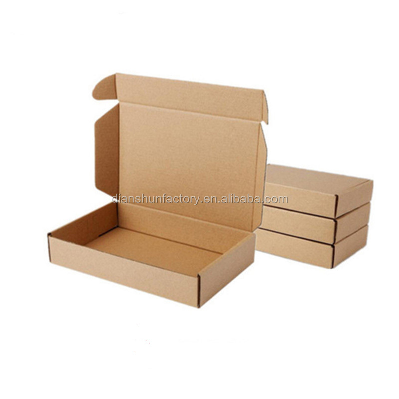 Wholesale Brown Kraft Gift Packing Boxes Soap Packaging Storage Item Package Mailing Box