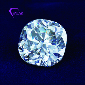 wholesale price 18mm GH clarity cushion ice crushed moissanite