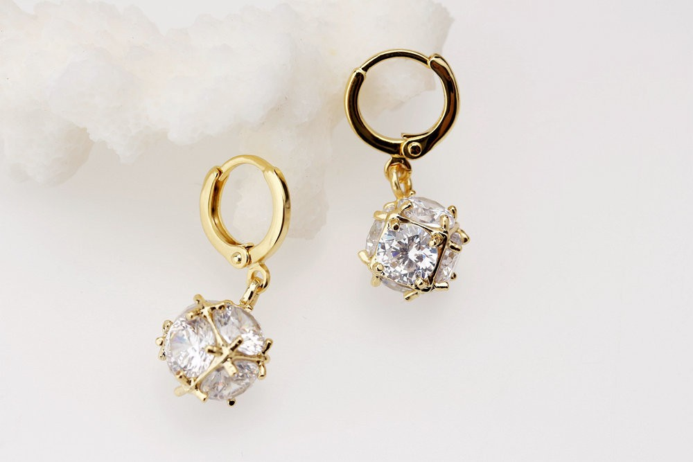 Excellent Gold Earring Designs For Women  Inofashionstylecom