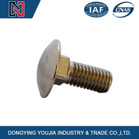 marine use stainless steel carriage bolts