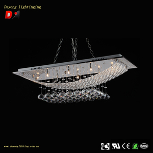 home indoor lighting restaurant hanging low ceiling glass chandelier DY3018 New arrival hanging crystal lights