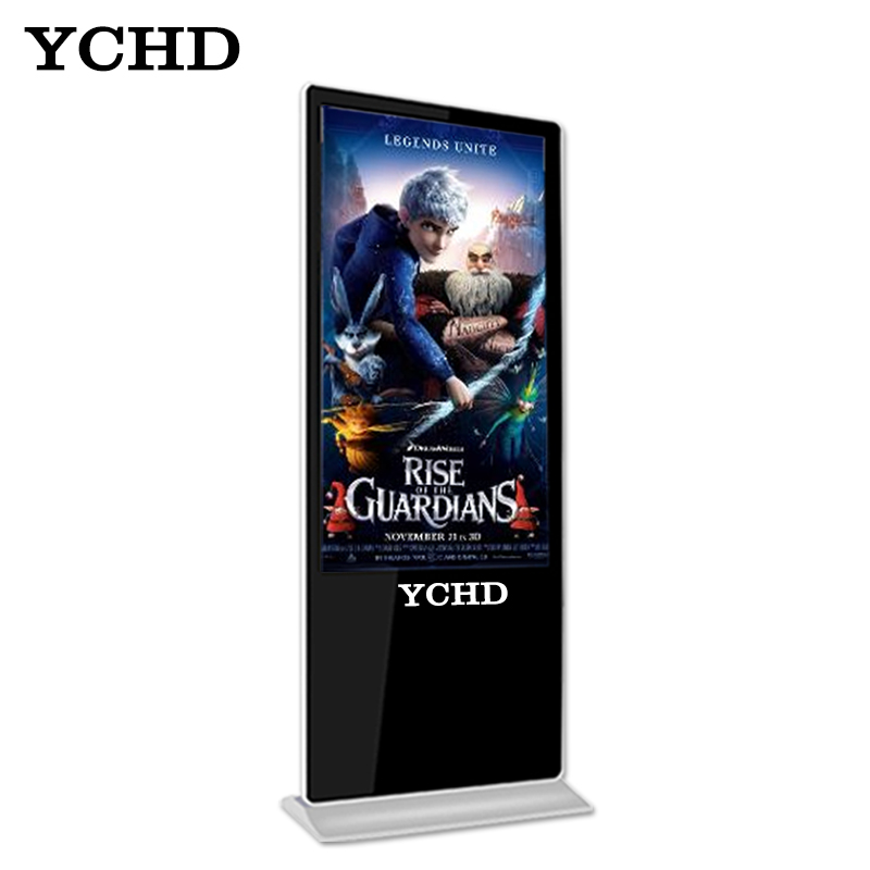 YCHD 43 polegadas full high definition1920 * 1080 levou placa de publicidade media player