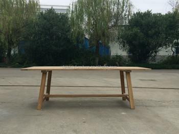소박한 스타일 정원 식당 나무 식사 테이블 - Buy Product on Alibaba.com