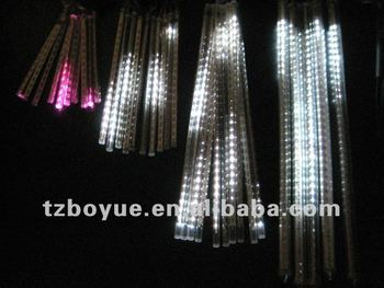 led solar falling icicle lightssets of 10pcs icicle lightschristmas lights