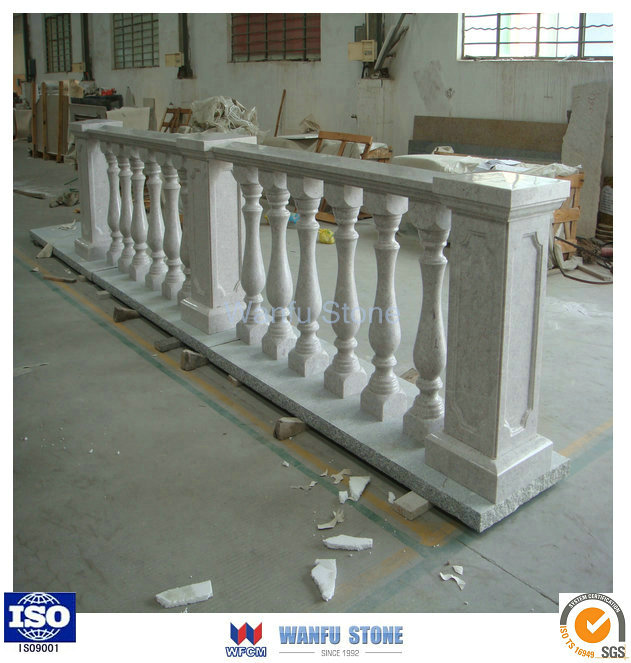 Wholesale Balcony Column Custom Granite Fence Columns