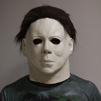 Halloween movie prop horror figure Lifesize Latex Michael Myers mask