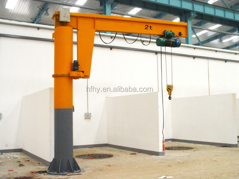 Swing Arm Hoist Mount : Jib crane swing arm cranes cantilever kg buy