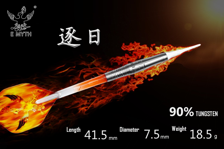 Luxury high end Japan Darts 90% tungsten steel tip darts