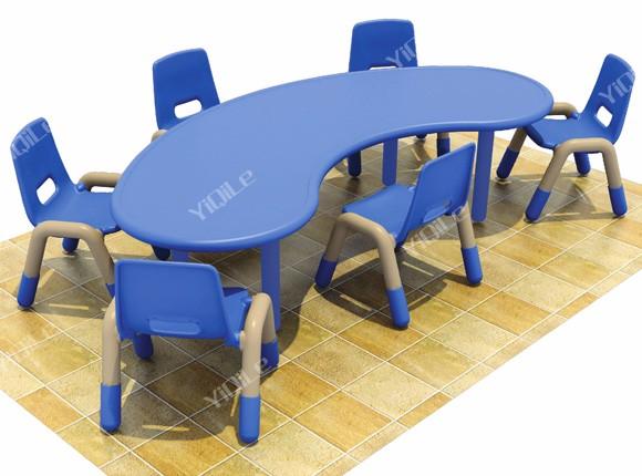 Kindergarten Mesa De Estudio Y Silla Set Envío Guardería Utilizado ...
