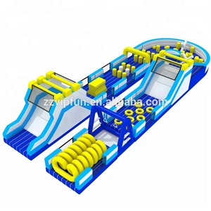 Cheap world's biggest inflatable obstacle course, longest and largest the beast inflatable giant obstacle course for adults