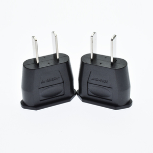 New products Hot portable ac power voltage converter 220v to 110v China EU to USA plug adapter