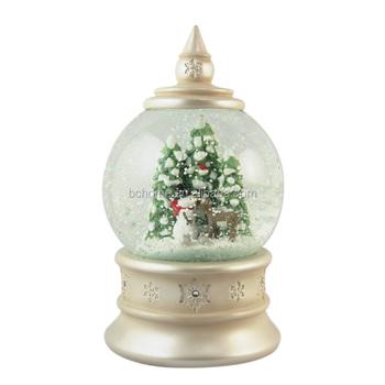 high quality christmas snow globe for home decoration