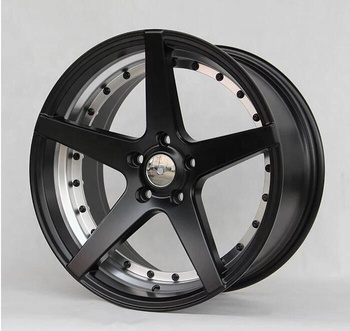 "2018 GRWA high quality and cheap price alloy wheel rim Black milled undercut 18"" 20"" wheel rims for SUV"