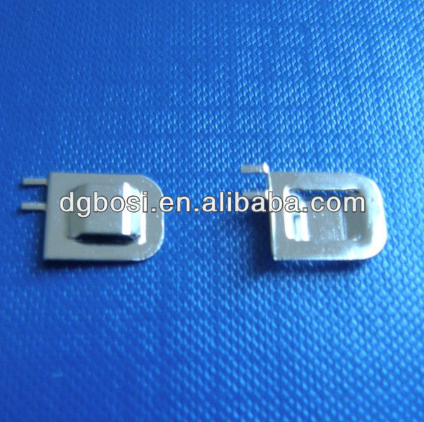 latest new design cell phone battery contacts with nickel plated Bosi-H1221-9