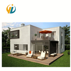 New Design Two story Steel Structure Prefab Houses Town House For Sale