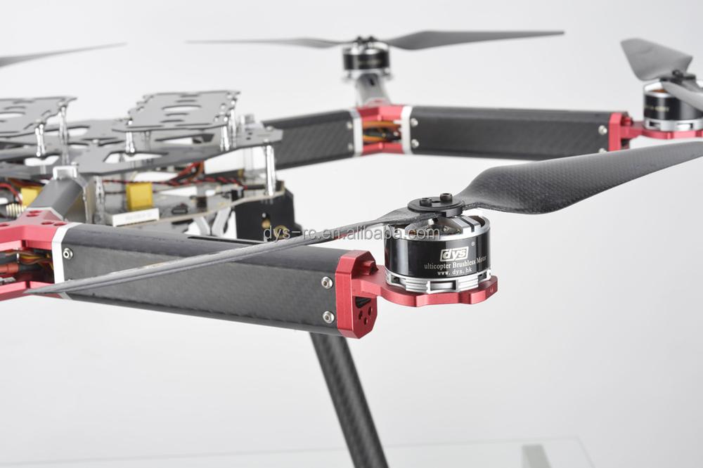 Dys 800 Mm Rc Hexacopter Rahmen/drone D800-v6 Abfluggewicht 4-10 Kg ...