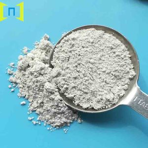 Wet ground white muscovite mica powder mineral