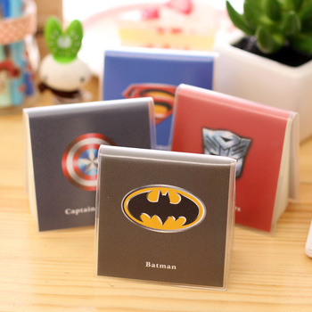 Mini Cute Superman Batman Notebook Exercise Book Notepad With Pvc Cover Office School Supplies Gift For