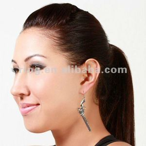 Top hot selling Cool Bonnie's Revolver Gun Dangle Earrings 2012